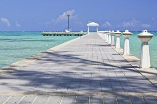 Rum point grand cayman pier