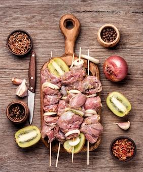 Rundvlees spies kebab
