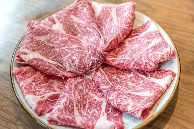 Rundvlees textuur