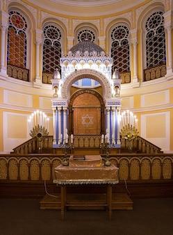 Rusland petersburg synagoge interieur koor st