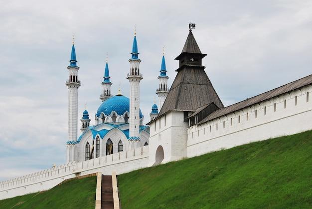 Rusland. stad van kazan. de kul sharif-moskee