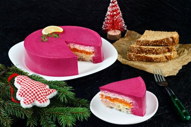 Russische keuken haring. russische nieuwjaarsgerechten traditioneel