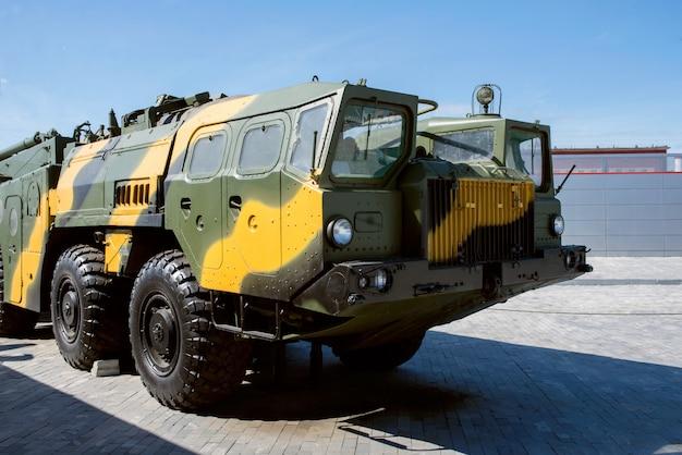 Russische mobiele raketinstallatie