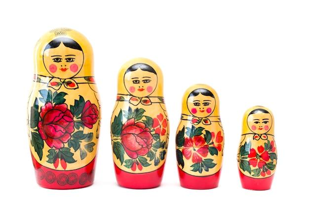 Russische nestelende poppen, matryoshkas