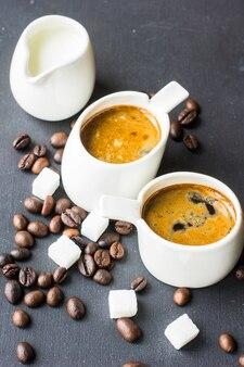 Rustieke koffietijd