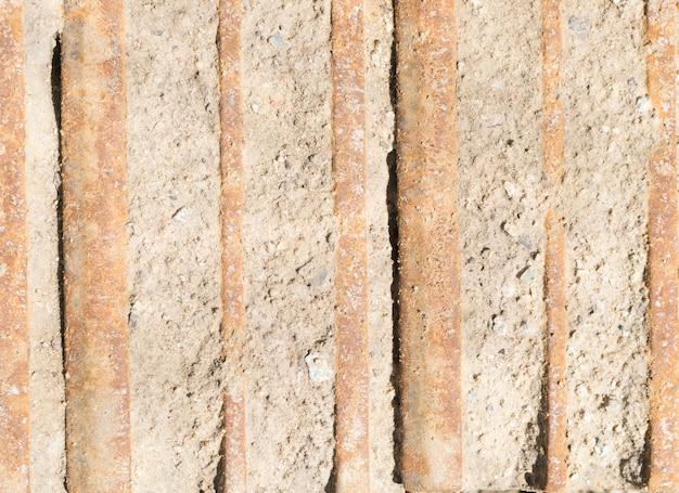 Rusty iron stripes texture achtergrond