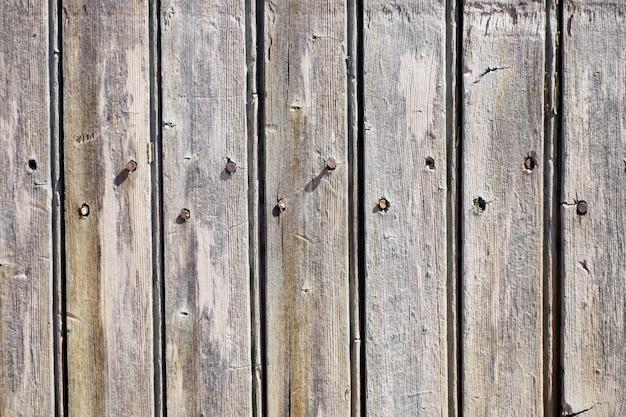 Ruw houten bord