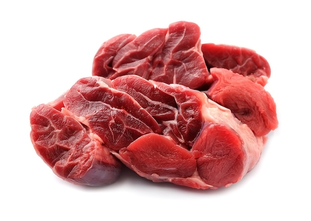 Ruwe vleesclose-ups.