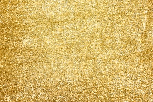 Ruwweg goud geschilderde betonnen muur oppervlak achtergrond