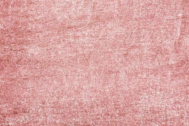Ruwweg roze goud geschilderde betonnen muur oppervlak achtergrond