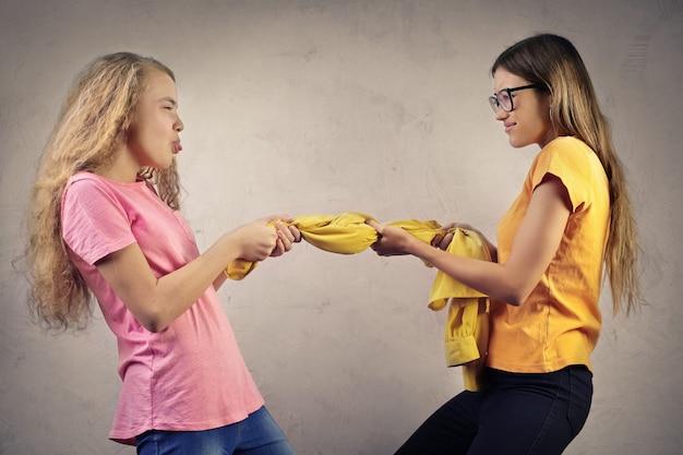 Ruzie van twee zussen