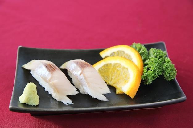 Saba sushi,makreel