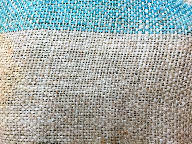 Sack fabric texture