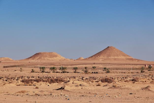 Saharawoestijn in het hart van afrika