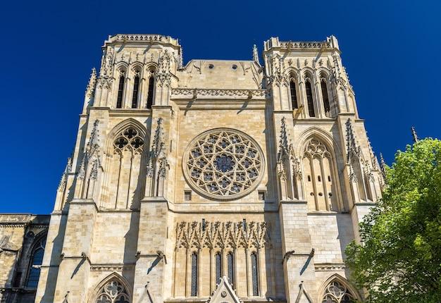 Saint andre kathedraal van bordeaux - frankrijk, aquitaine