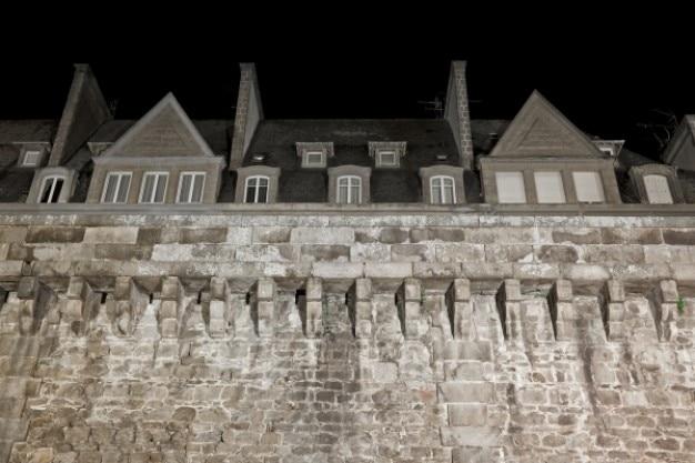 Saint malo historische muren
