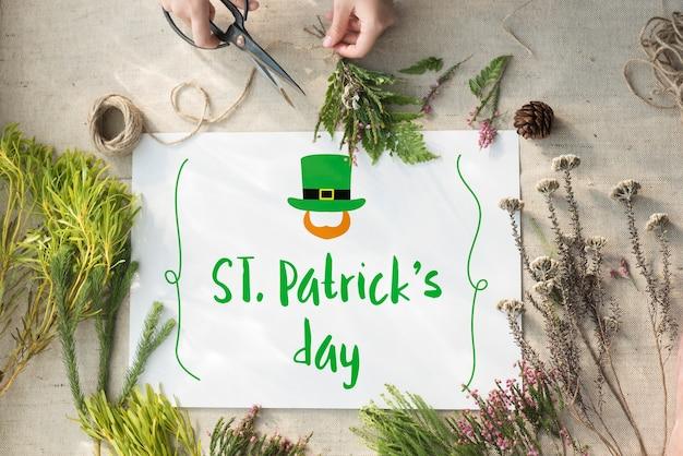 Saint patrick day viering concept