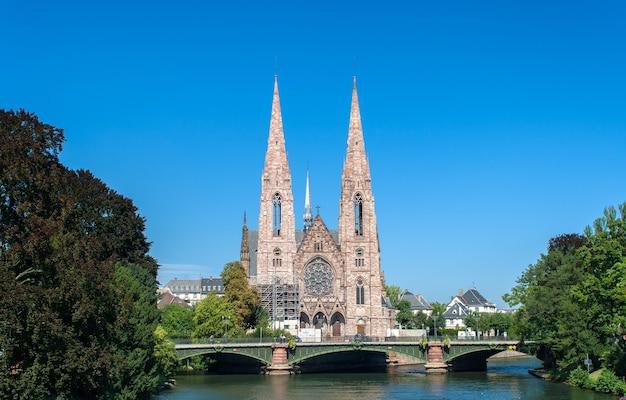 Saint paul church in straatsburg
