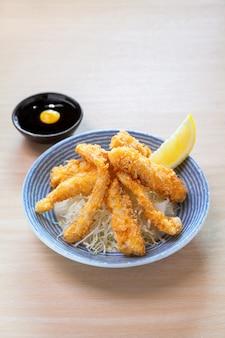 Sakana karage, knapperige gebakken vis
