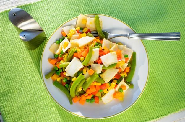 Salade groentemix