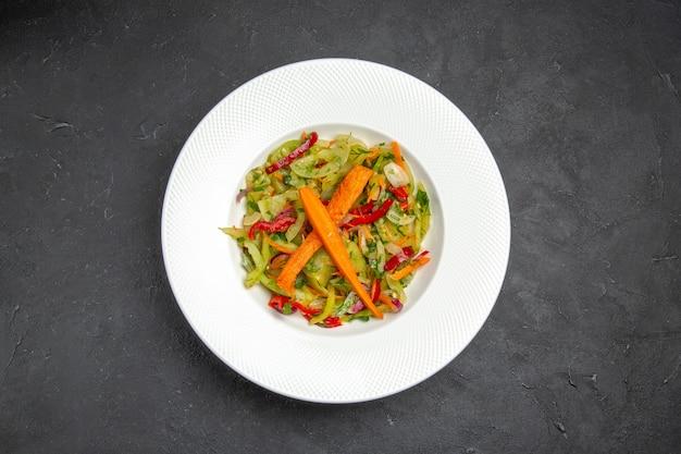 Salade groentesalade met wortel