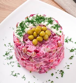 Salade met bieten