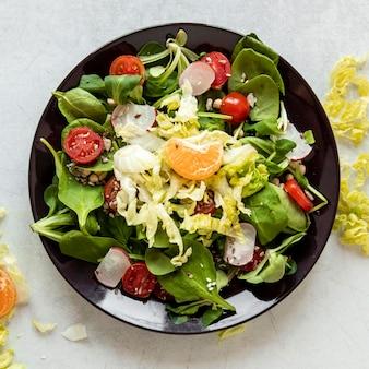 Salade met mandarijn