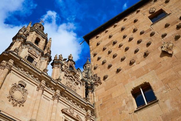 Salamanca clerecia-kerk en casa conchas