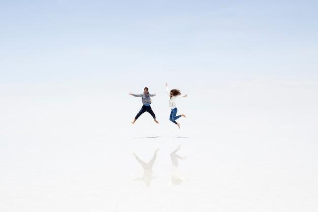 Salar de uyuni zoutvlakte in bolivia