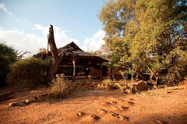Samburu national reserve in kenia