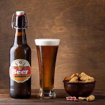 Samenstelling met heerlijk amerikaans bier