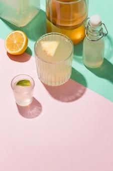 Samenstelling met heerlijke gefermenteerde dranken