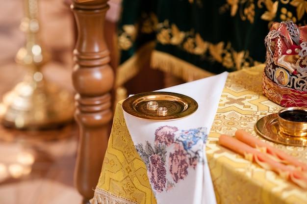 Samenstelling van attributen voor de bruiloft