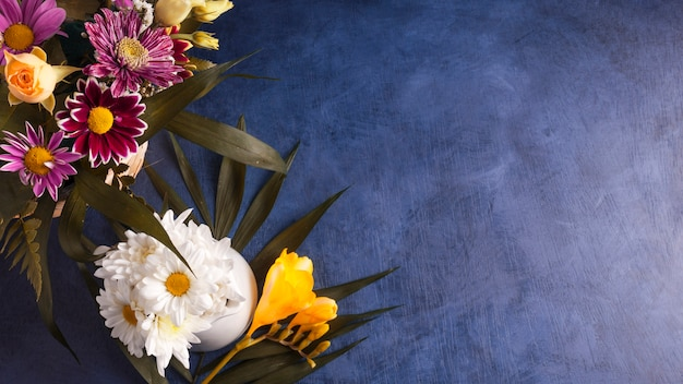 Samenstelling van bloemen en tropische planten