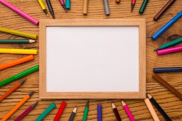 Samenstelling van de elementen van de dag van de leraar