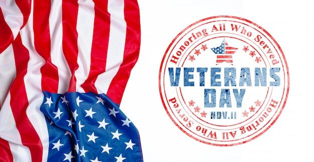 Samenstelling van de vlag van de veteranendag