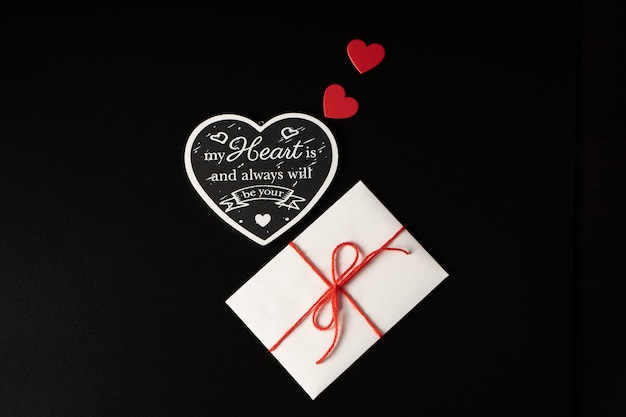 Samenstelling van harten en envelop