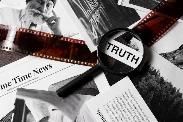 Samenstelling van het waarheidsconcept bij een detectivebureau