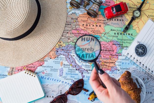 Samenstelling van reiselementen
