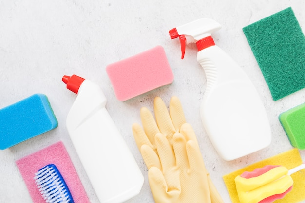 Samenstelling van schoonmaakobjecten