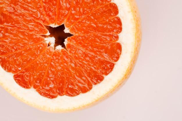 Samenstelling van smakelijke rijpe grapefruit