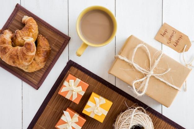 Samenstelling van verschillende objecten voor vadersdag