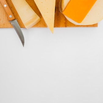Samenstelling van verschillende soorten kaas