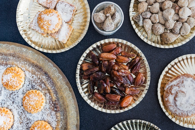 Samenstelling van zoete en smakelijke zoetwaren
