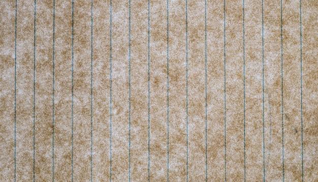 Samenvatting en textuur van oud grungedocument, met lijnpatroon, voor achtergrondontwerp