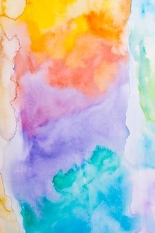 Samenvatting gekleurde aquarelle achtergrond