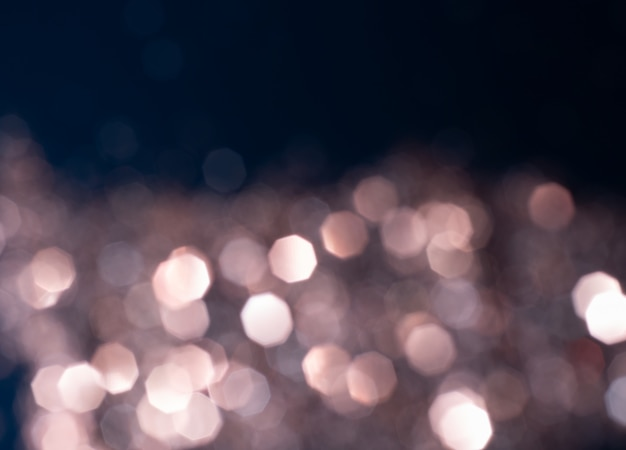 Samenvatting vage bokeh achtergrond. lensflare, vakantiethema
