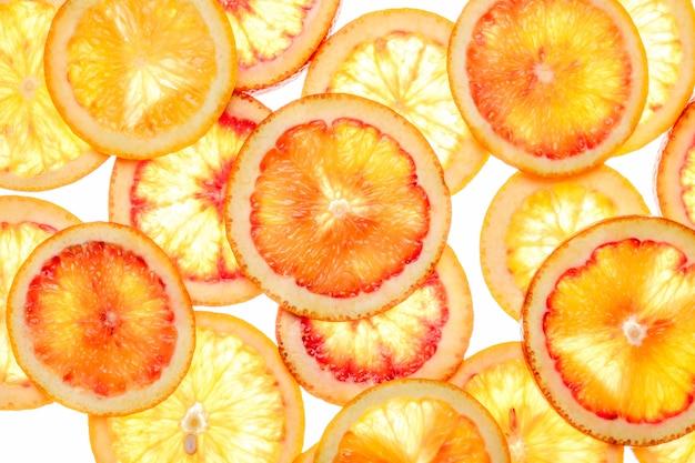 Samenvatting van citrusvruchtenplakken