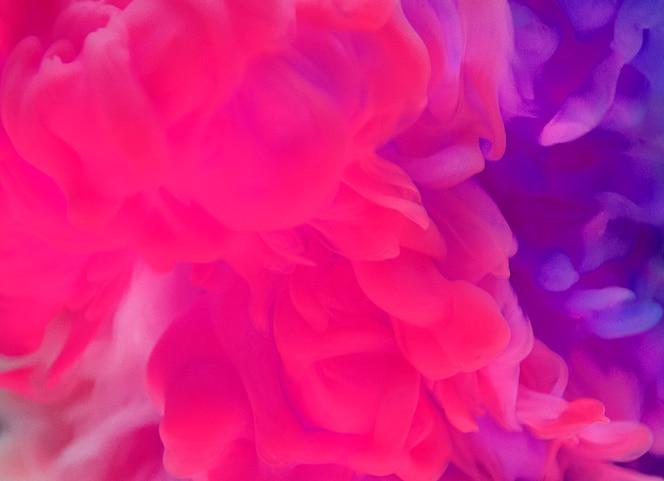 Samenvatting van paarse en roze wolk