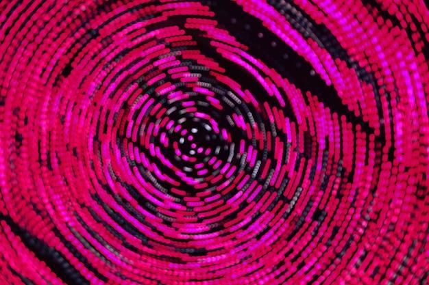 Samenvatting wazig defocused-beeld van nachtlichten met de achtergrond van het motieonduidelijke beeld